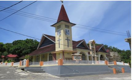 Gereja Tua Sion Di Negeri Nalahia