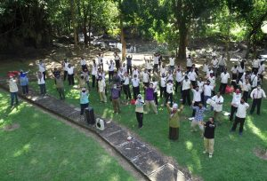 Sosialisasi Internal BPCB Sul-Sel menuju ZI WBK di Taman Prasejarah Leang-Leang