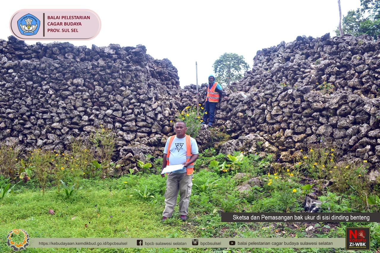 Updating Pemetaan/Pengukuran Situs Benteng Wasidakari Kabupaten Muna Provinsi Sulawesi Tenggara