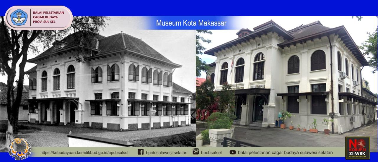 Bangunan Museum Kota Makassar (Radhuis van de Gemeente)