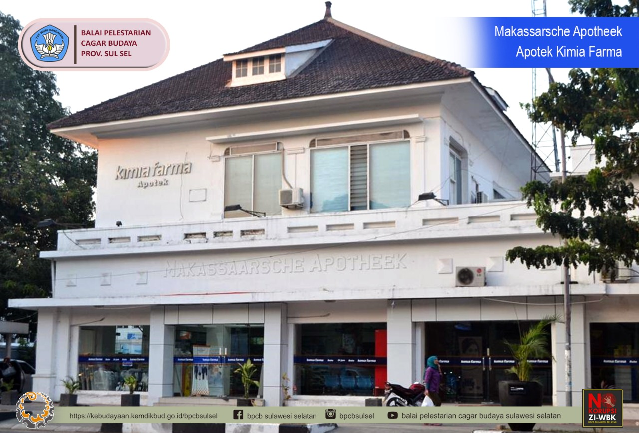 Bangunan Apotheek Rathkamp & Co: Apotek Pertama di Kota Makassar