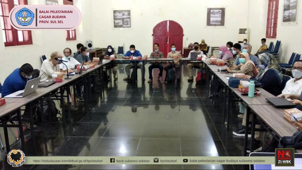 Rapat Persiapan dalam rangka Ekskavasi Benteng Sombaopu