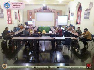 Read more about the article Rapat Koordinasi Persiapan Kegiatan Muhibah dan Festival Jalur Rempah 2021 di titik singgah Makassar berlangsung secara hybrid di Aula Benteng Rotterdam