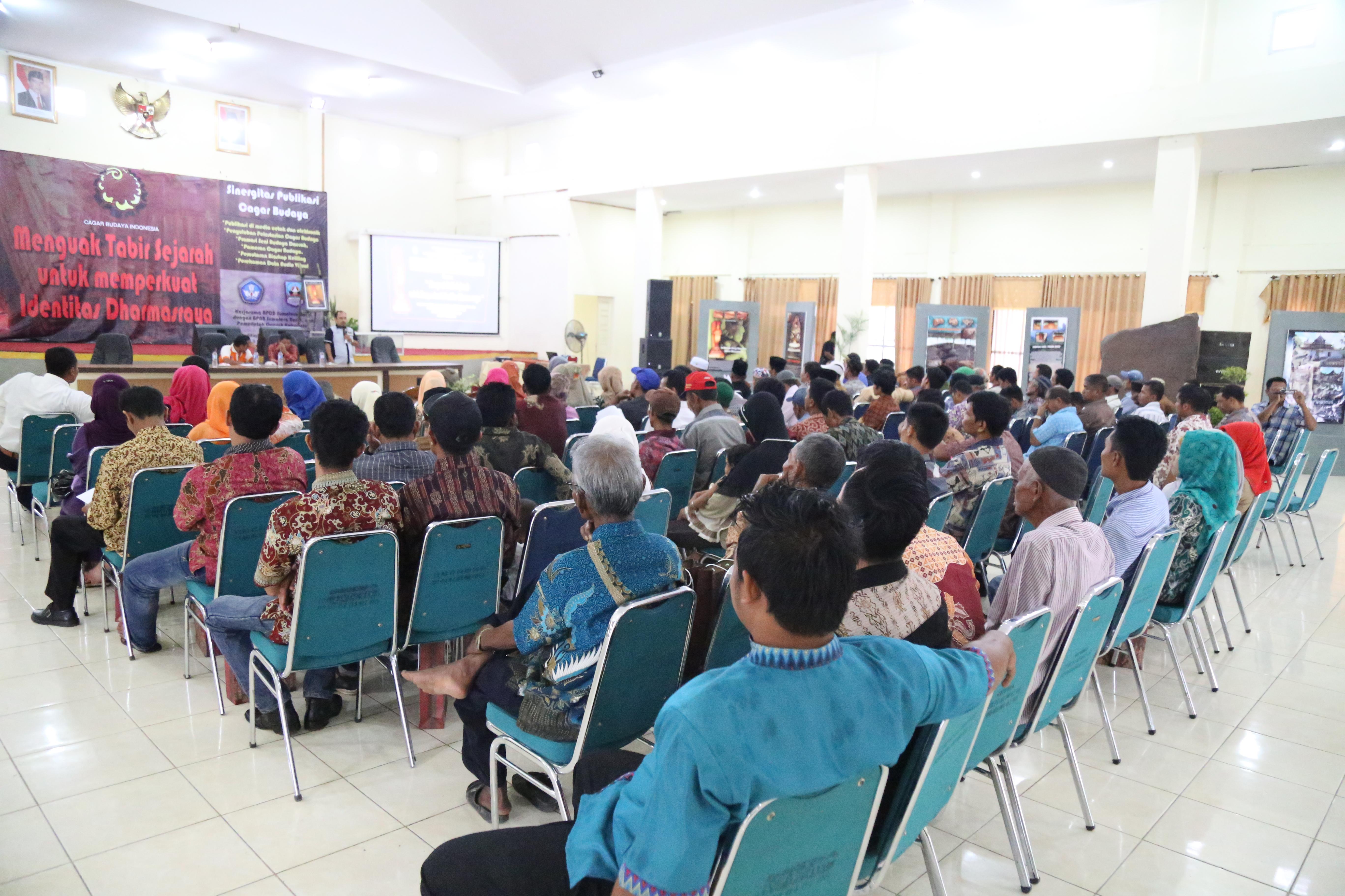 Read more about the article Juru Pelihara Cagar Budaya Hadiri Penyuluhan di Kab. Dharmasraya