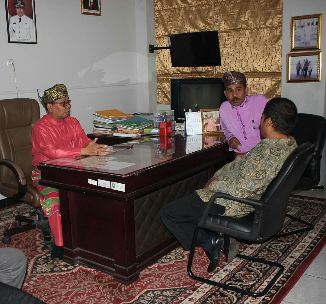 Read more about the article Kepala BPCB Sumbar Audiensi di Kabupaten Siak