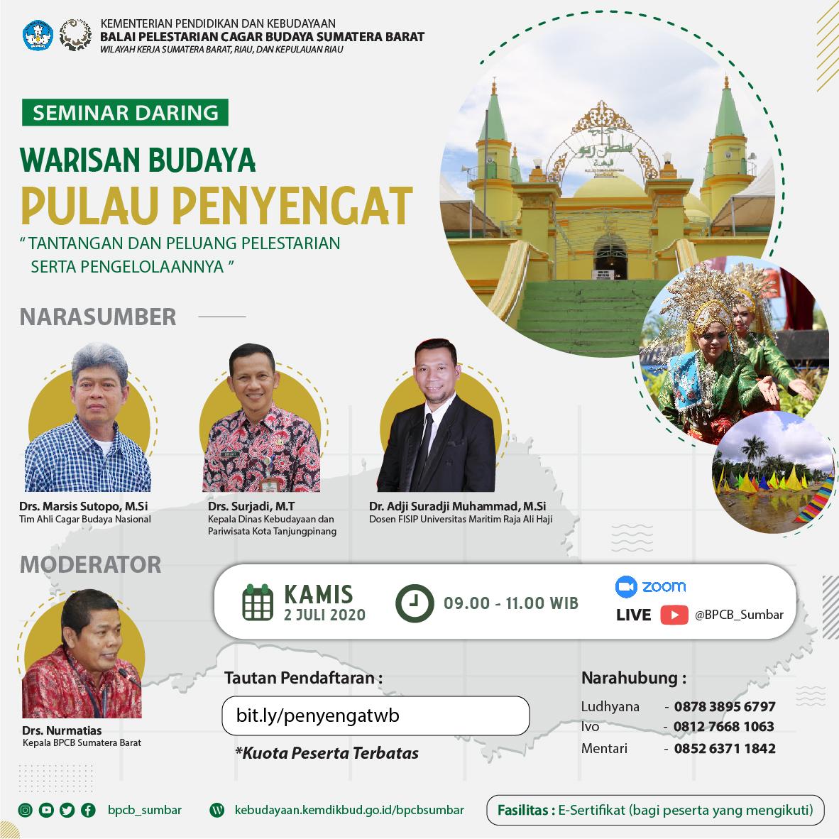 """Read more about the article WARISAN BUDAYA DI PULAU PENYENGAT"""""""