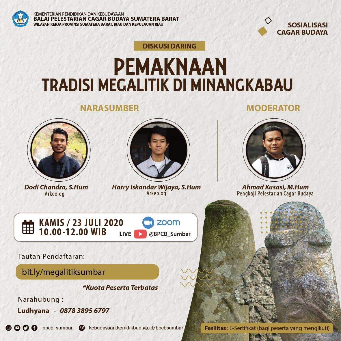 Read more about the article Pemaknaan Tradisi Megalitik di Minangkabau