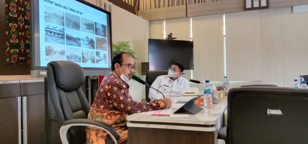Read more about the article Penting Melestarikan Cagar Budaya, Wakil Bupati Tanah Datar Kunjungi BPCB Provinsi Sumatera Barat