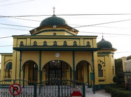 Masjid Syahabuddin dikenal juga dengan nama Masjid Raya Siak Sri Indrapura