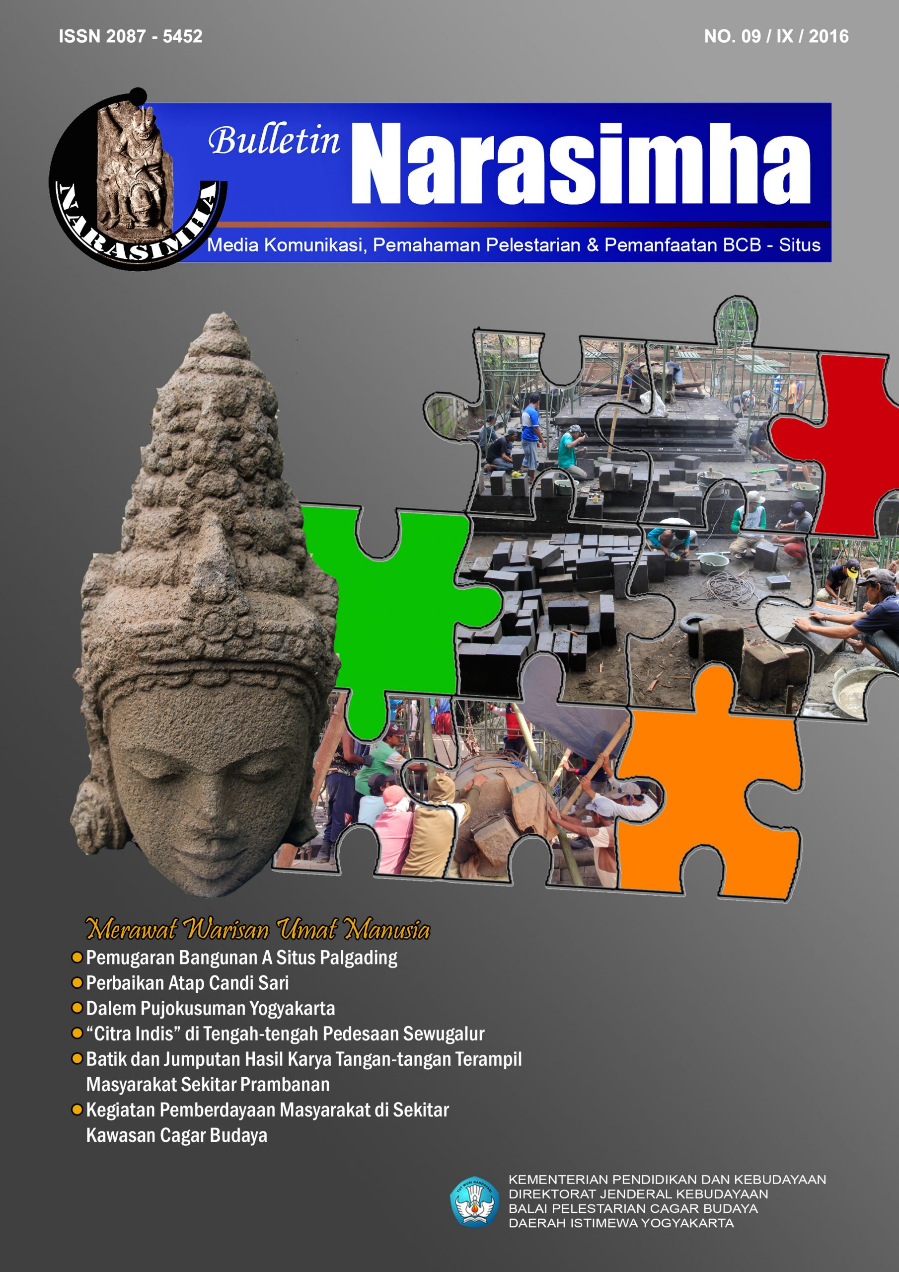Read more about the article Buletin Narasimha No. 09/IX/2016