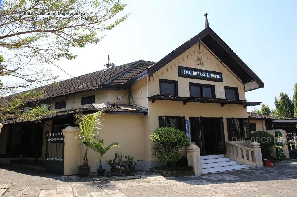 Gedung SMA BOPKRI I Yogyakarta  (Foto: Dok. BPCB DIY 2019)