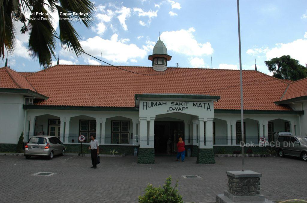 Rumah Sakit Mata Dr. Yap (Foto: Dok. BPCB DIY 2009)