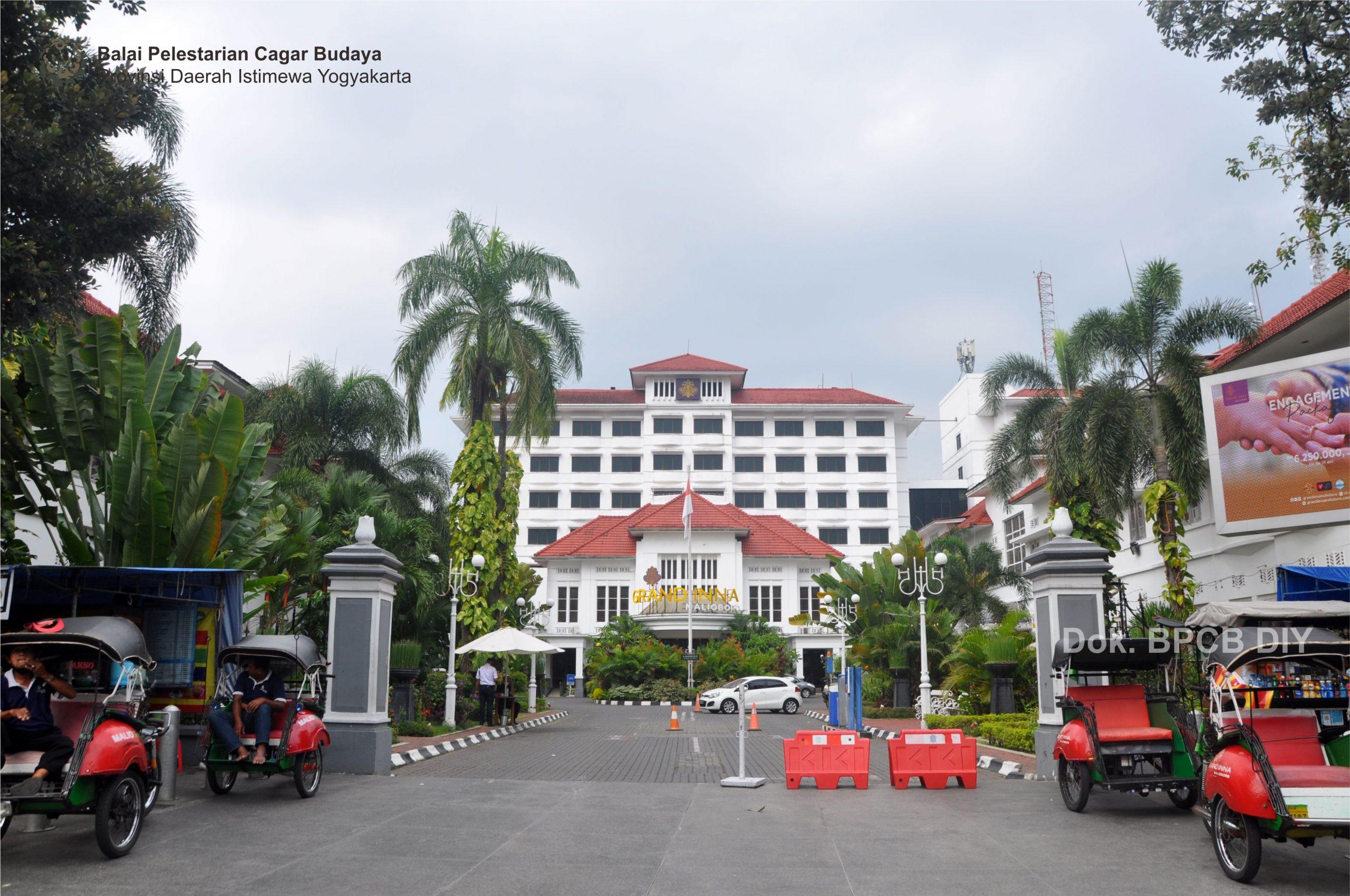 Read more about the article Hotel Grand Inna Malioboro (Grand Hotel de Djokja )