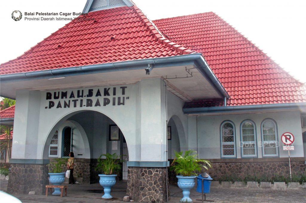Situasi Bangunan Rumah Sakit Panti Rapih tampak utara  (Foto: Dok. BPCB DIY 2010)