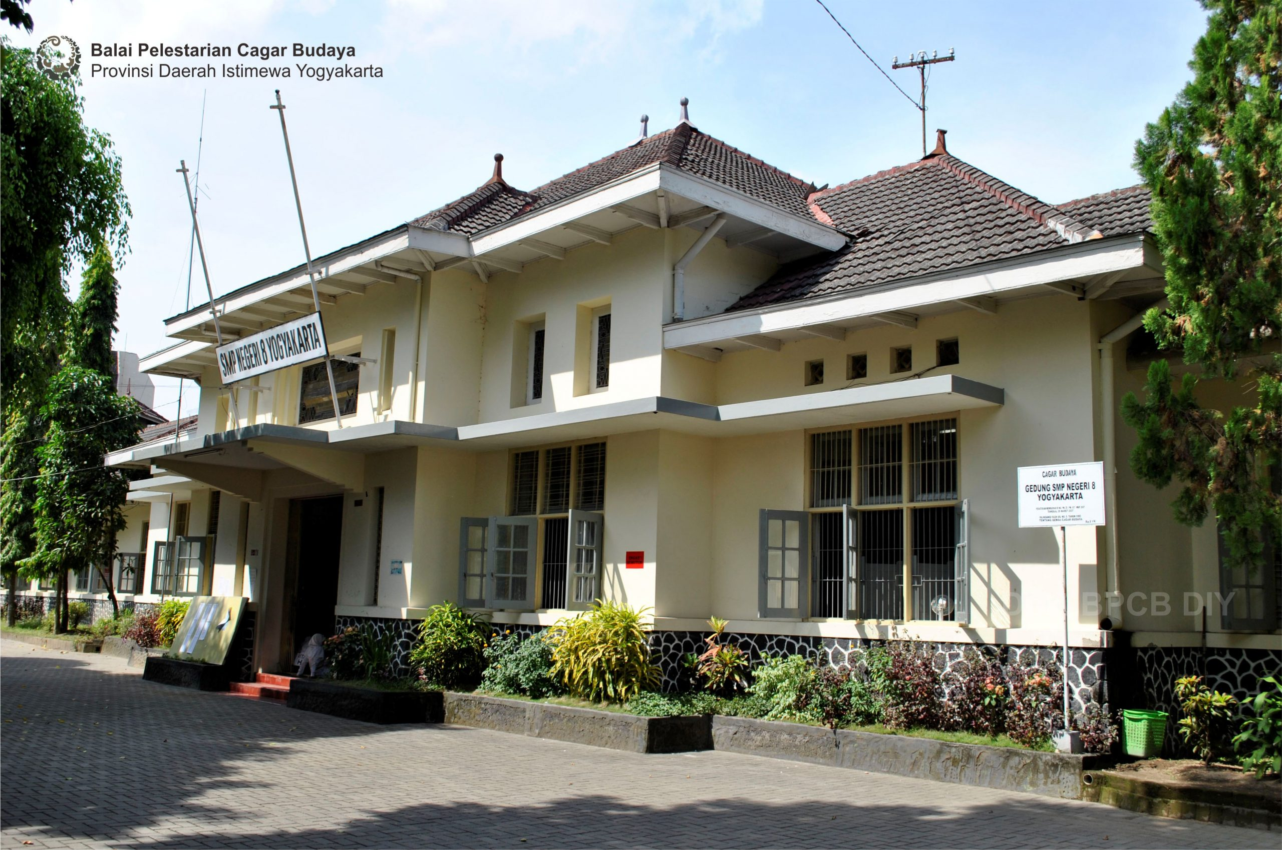 Read more about the article Gedung SMP Negeri 8 Yogyakarta
