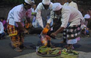Read more about the article Pelaksanaan Ritual Basmerah Nyambleh Sasih Kanem di Desa Pakraman Taman Pohmanis [1]