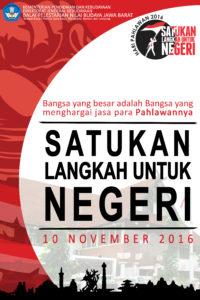 Read more about the article Upacara memperingati Hari Pahlawan di BPNB Jawa Barat