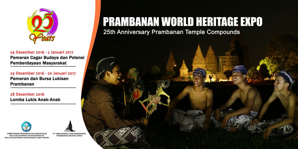 Read more about the article Peringatan 25 Tahun Penetapan Warisan Dunia Kompleks Candi Prambanan