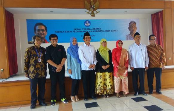 Read more about the article Serah Terima Jabatan antara Dua Kepala BPNB