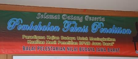 Read more about the article Pembekalan Teknis Penelitian Tahun 2017