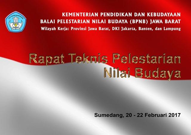 You are currently viewing Rapat Teknis Pelestarian Nilai Budaya Tahun 2017