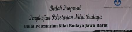 You are currently viewing BPNB Jawa Barat Laksanakan Bedah Proposal Pengkajian Nilai Budaya