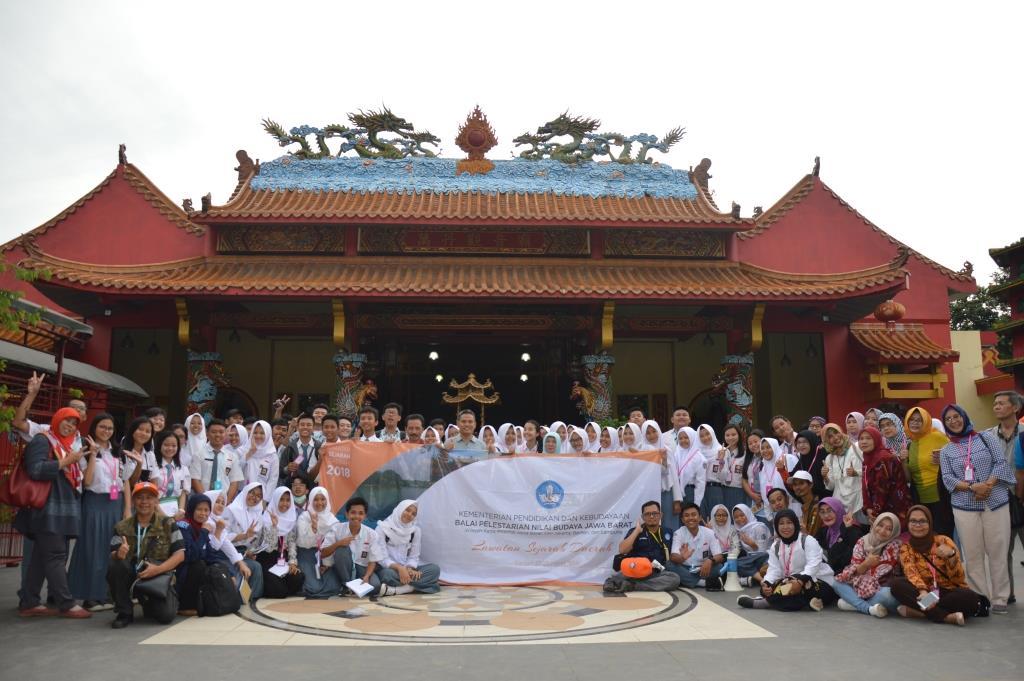 BPNB Jabar ajak siswa menikmati keindahan sejarah Banten