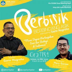 Read more about the article Berbisik: Berbincang Asyik bersama Garin Nugroho