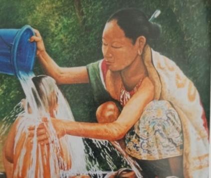 Read more about the article Budaya Visual dalam Lukisan Perempuan