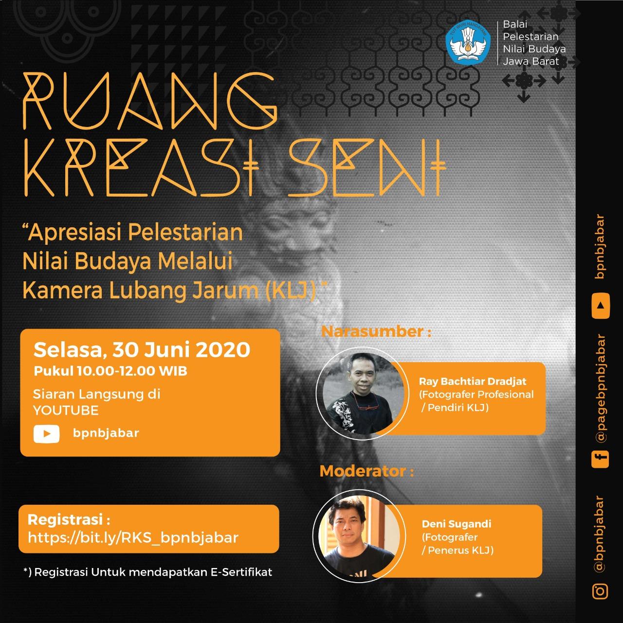 Read more about the article Apresiasi Pelestarian Nilai Budaya melalui Kamera Lubang Jarum (KLJ)