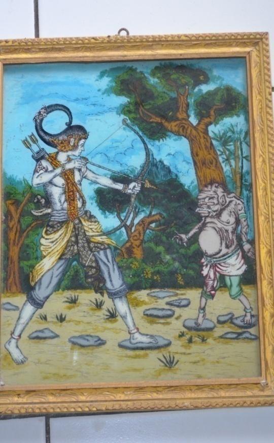 Raharyadi  Wijayakusumah, Pelukis Kaca dari Cirebon