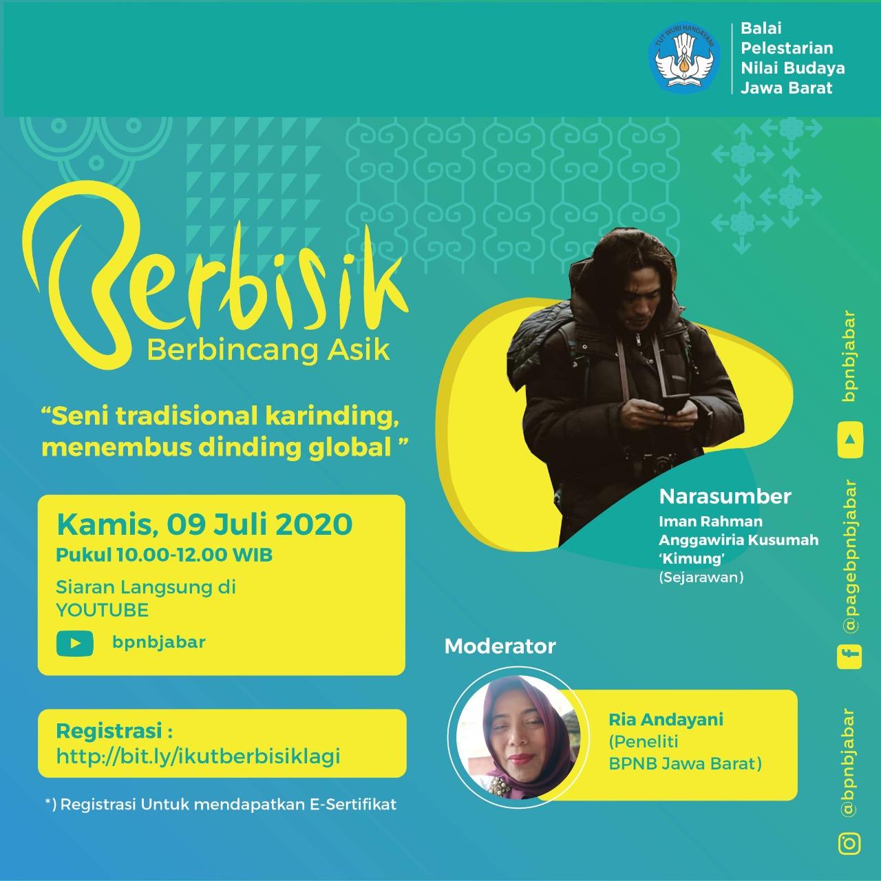 "Read more about the article Berbisik: ""Seni Tradisional Karinding Menembus Dinding Global"""