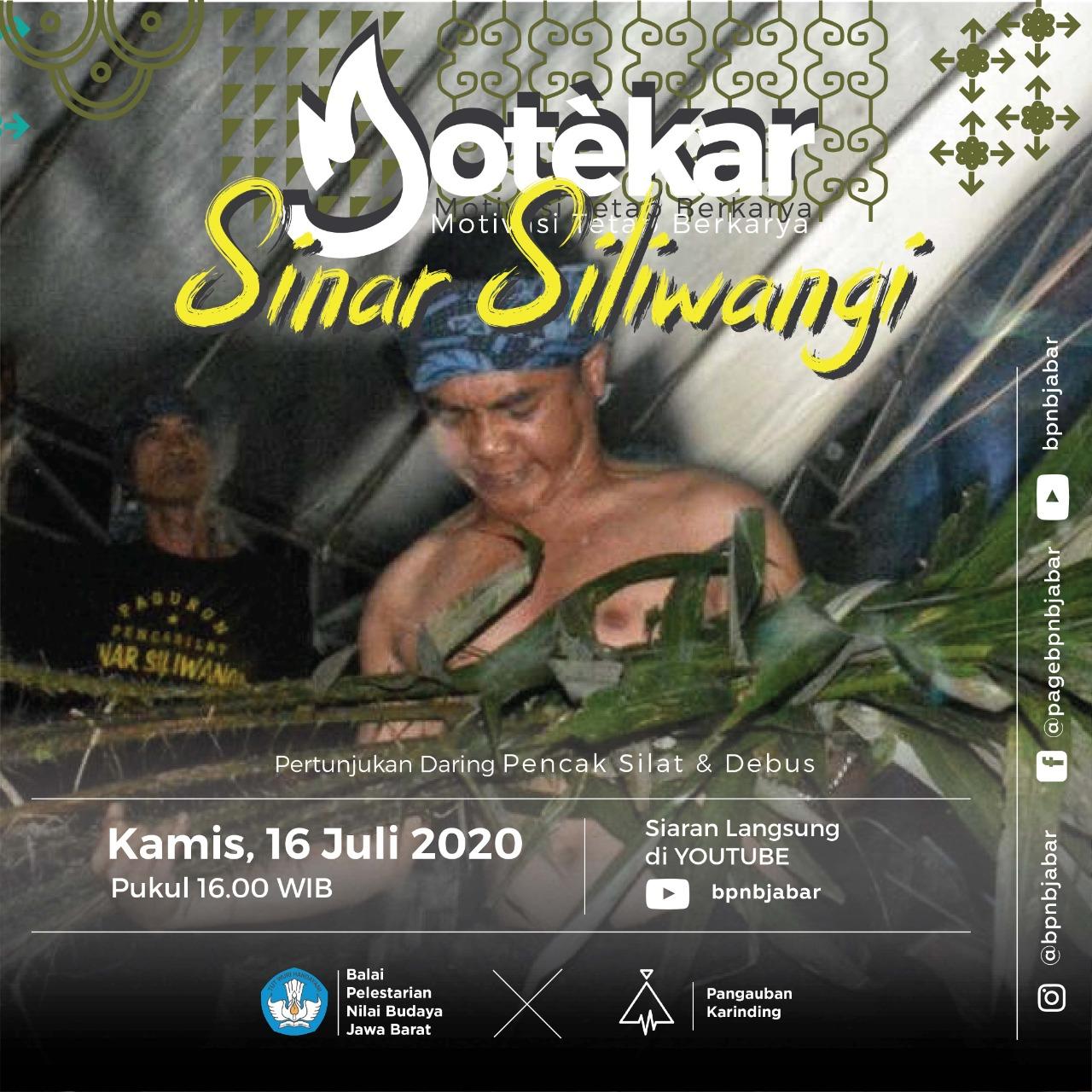 Read more about the article PENCAK SILAT DAN DEBUS SINAR SILIWANGI