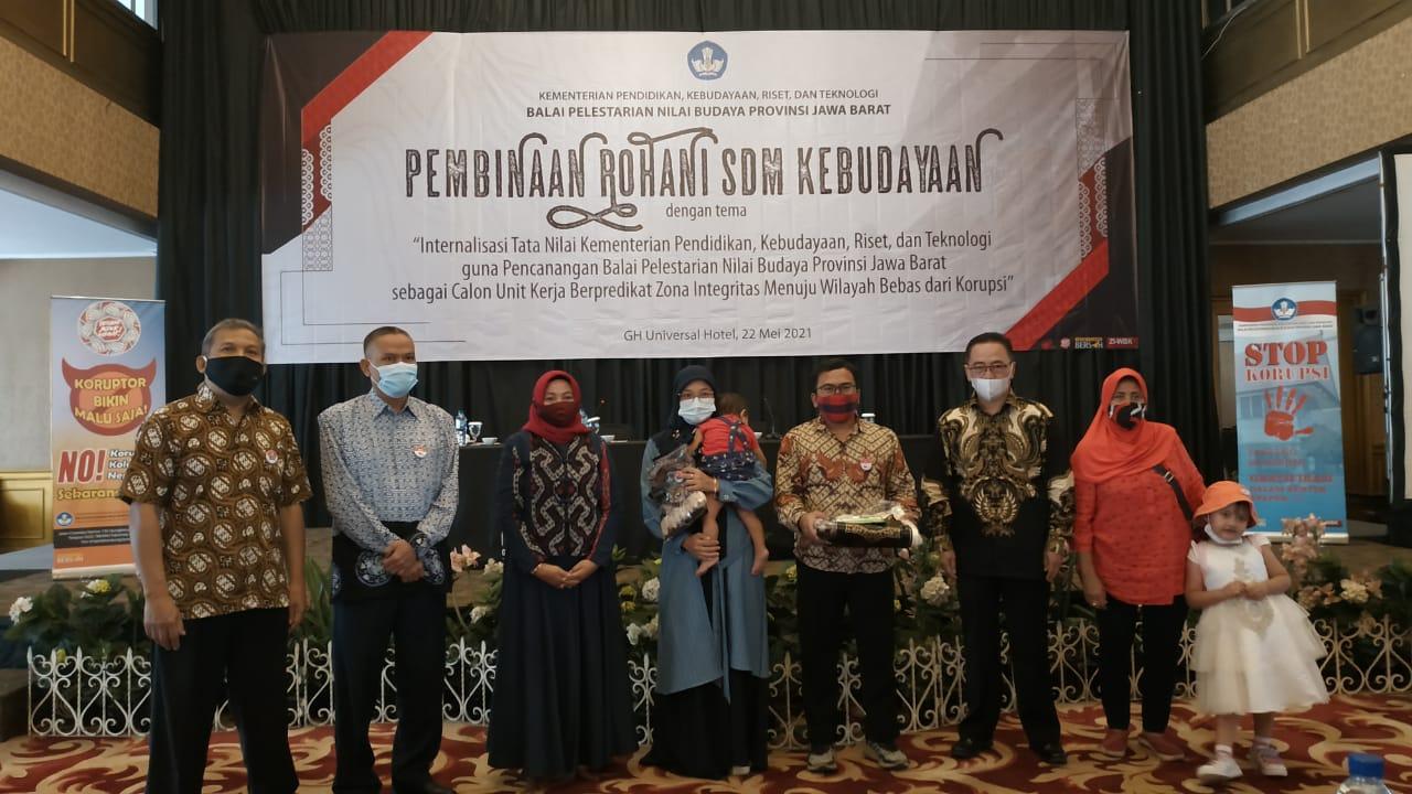 Read more about the article Pembinaan Rohani SDM Kebudayaan di Lingkungan BPNB Provinsi Jawa Barat