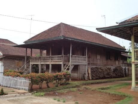 Read more about the article Akheui : Tiang Rumah Tradisional Kampung Wana di Lampung Timur
