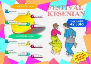Read more about the article FESTIVAL KESENIAN TRADISIONAL HADRAH DAN TARI 2016
