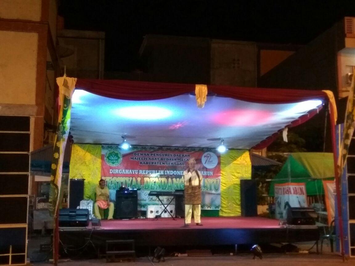 Read more about the article Inilah Pemenang Festival Dendang Melayu di Sekadau
