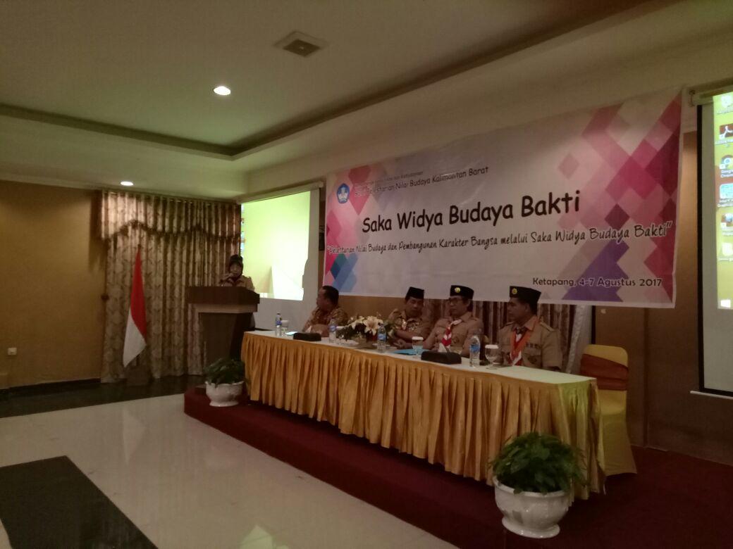 Read more about the article BPNB Kalbar selenggarakan Sosialisasi Saka Widya Budaya Bakti di Ketapang
