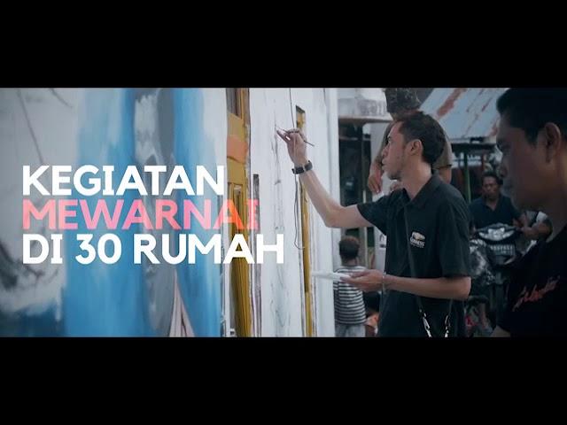 "Read more about the article Hapus Stigma Negatif, Warga Beting Adakan ""Beting Street Art 3"""