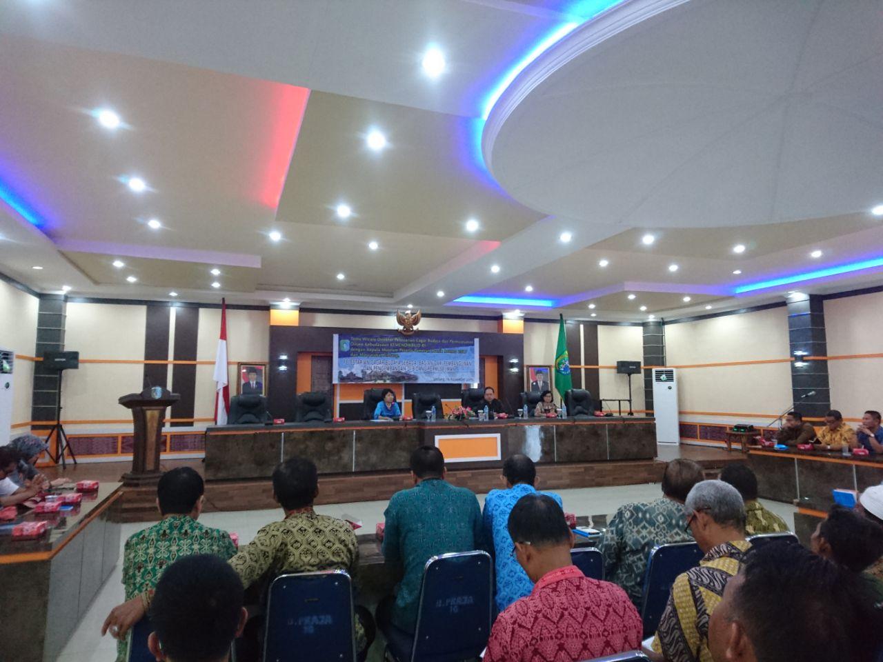 Read more about the article Kunjungi Sintang, Direktur Pelestarian Cagar Budaya dan Permuseuman Tekankan Amanat Uu No 11 Tahun 2010