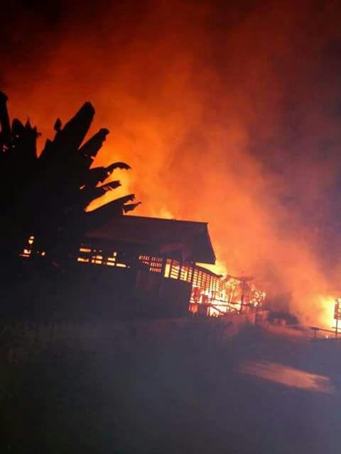 Read more about the article Rumah Adat Dayak Terbakar lagi!