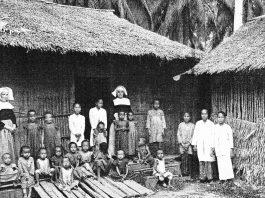 Anak-anak penderita kolera di Singkawang. . Endemi dan Epidemi di Kalimantan Barat di masa lalu (sumber: