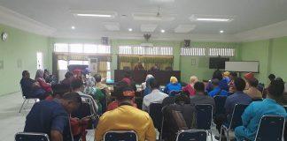 Rapat perdana Balai Pelestarian Nilai Budaya (BPNB) Kalimantan Barat yang dipimpin Kepala BPNB Kalbar Dra. Hendraswati di Aula BPNB Kalbar, JL. Letjen Sutoyo, Pontianak, Kalimantan Barat, Selasa (2/1/2017)
