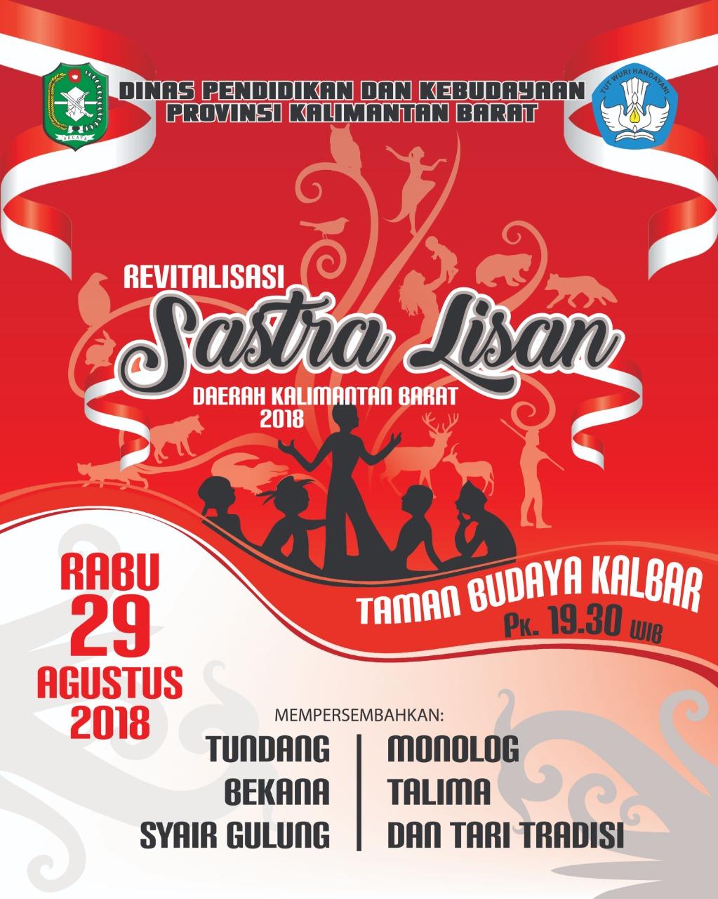 Read more about the article Revitalisasi Sastra Lisan Kalimantan Barat