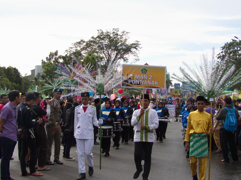 Read more about the article Kemeriahan Pawai Akbar Menyambut Tahun Baru Islam 1440 H Di Kota Pontianak
