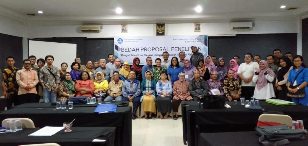 Read more about the article 8 Naskah Dipresentasikan dalam Bedah Proposal BPNB Kalimantan Barat