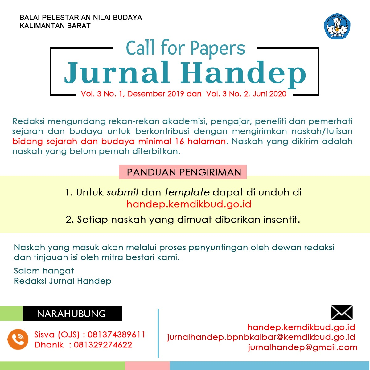 Read more about the article Call For Paper Jurnal Handep Terbaru