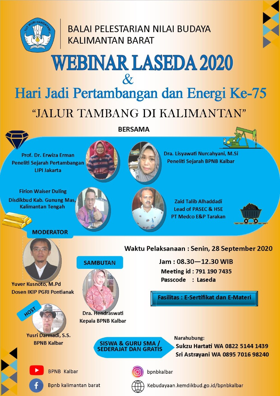 "Read more about the article Webinar ""Jalur Tambang di Kalimantan"""