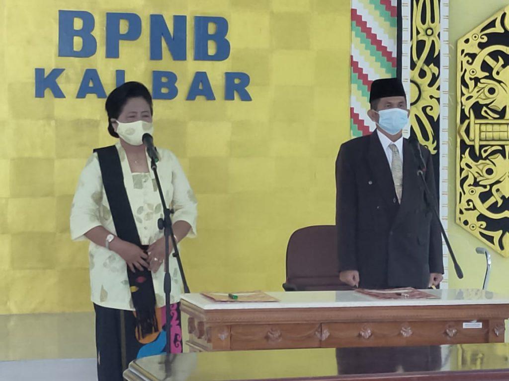 Pelantikan Pamong Budaya di BPNB Kalimantan Barat
