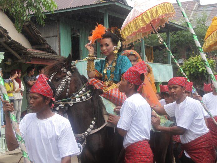 Sayyang Pattudduq adalah atrasksi berupa kuda menari ...